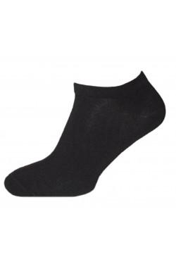 Черные короткие носки мужские