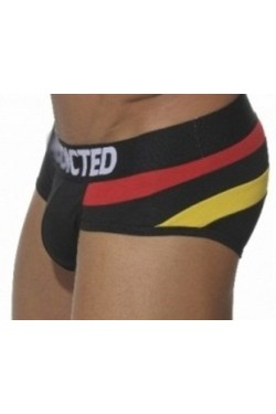 Addicted slip rainbow black