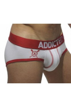 Addicted slip mesh white/red