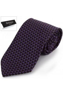 Галстук мужской фиолетовый SCHONAU & HOUCKEN