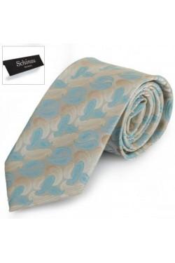 Серый галстук SCHONAU & HOUCKEN