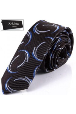 Шелковый мужской галстук SCHONAU & HOUCKEN