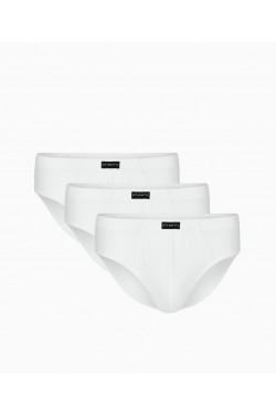 Белые классические слипы набор из 3 ед 3mp006
