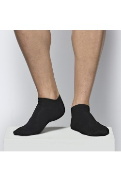 Ультракороткие носки Atlantic MSC012 черные