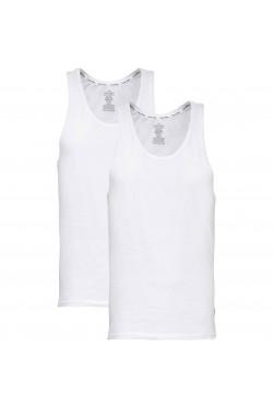 Комплект белых маек Calvin Klein из 2 единиц