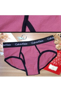Мужские слипы Calvin Klein фиолетовые
