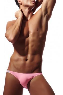 Мужские мини бикини розовые