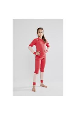 Детский термокомплект Baselayer Set Junior Craft красный