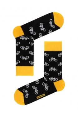 Мужские носки с принтом велосипеды
