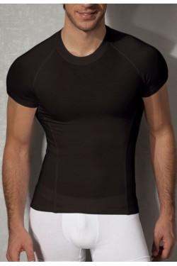 Футболка мужская облегающая Doreanse черная 2535