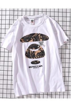 AAPE-Bape футболка белая