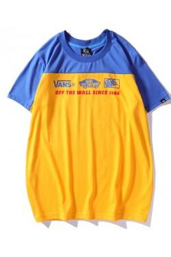 Vans футболка желтая