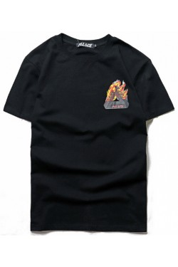 Футболка Palace flame black