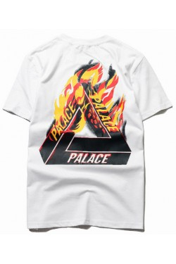Футболка Palace flame white
