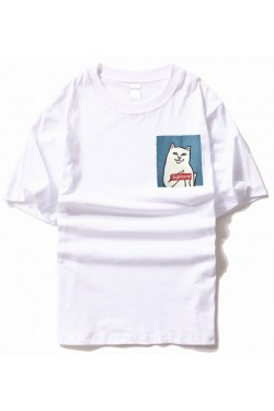 Ripndip x Supreme кот Nermal white