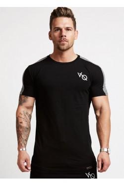 VQ  футболка мужская черная