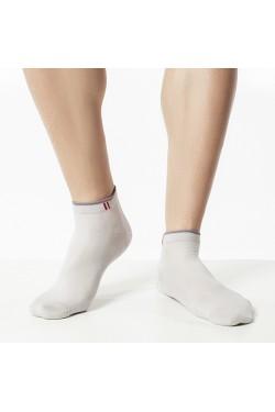 Короткие носки Atlantic MSC-073 серые