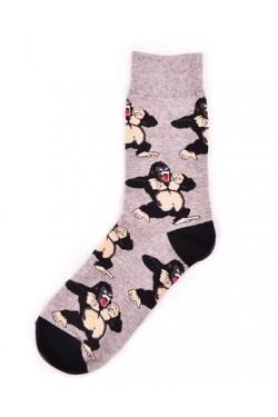 Мужские носки с принтом горилла
