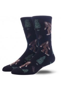 Мужские носки с йети
