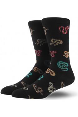 Мужские носки со змейками
