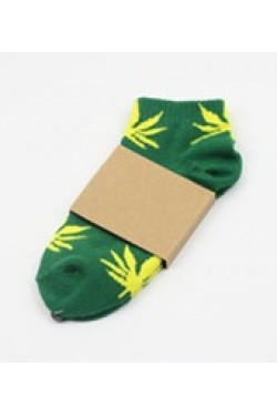 HUF yellow/green короткие