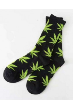 HUF носки black/yellow long