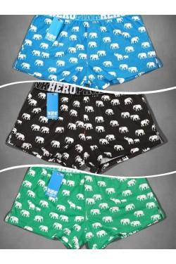 Свободные боксерки со слонами