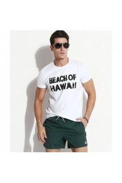 Пляжные мужские шорты Qike зеленые