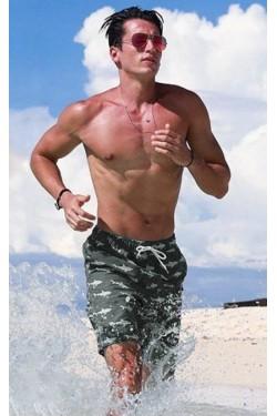 Пляжные шорты Qike серые