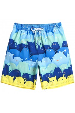 Летние шорты мужские GAILANG голубые