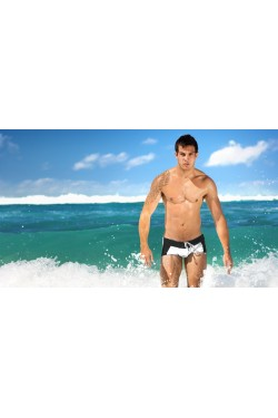 Плавки Aussiebum white/black 04
