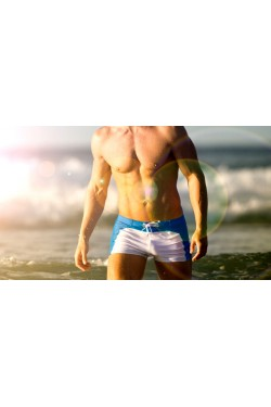 Плавки Aussiebum blue/white 05