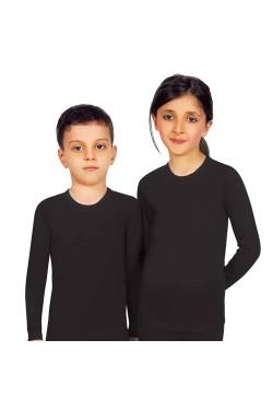 Термокофта детская Jiber черная 903