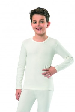 Термокофта детская Jiber молочная 903