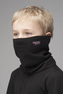 Детский термошарф Thermoform черный 1017