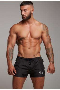 Короткие черные шорты Vanquish