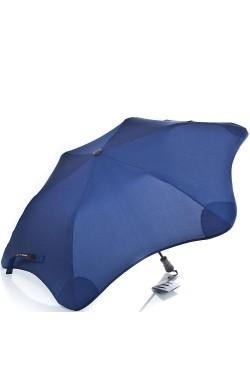 Противоштормовой зонт полуавтомат BLUNT синий