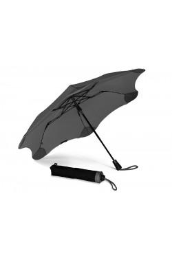 Противоштормовой зонт полуавтомат BLUNT серый