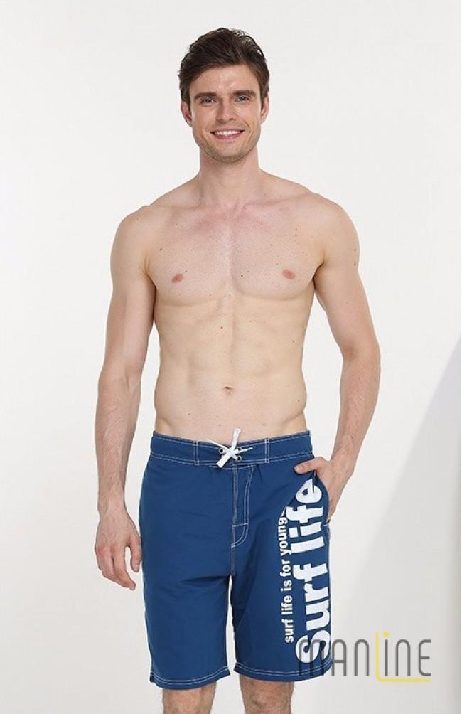 Шорты пляжные мужские GAILANG blue купить в Киеве — магазин мужского ... 2d1cc55df4bf8