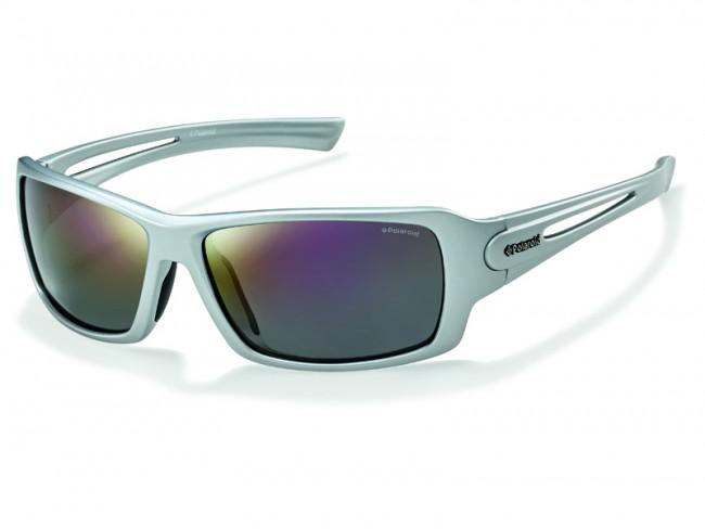 Мужские поляризационные спортивные очки с зеркальным напылением POLAROID 26c4304531d50
