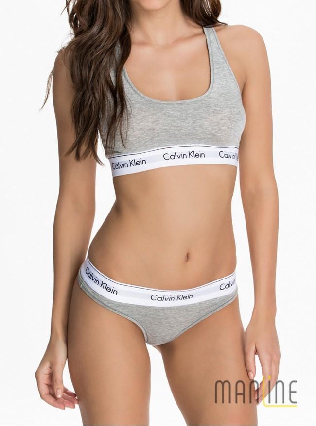 c2d86a0b6e5a Комплект белья Calvin Klein string gray